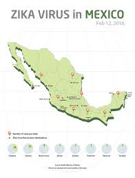 Queretaro Mexico Map by Mexico Draws Map Indicating Location Of Zika Cases Travel Weekly