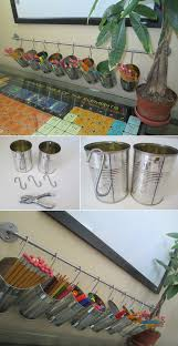 Pencil Holder For Desk Diy Tutorial Office Accessories Tin Can Pencil Holders Kids