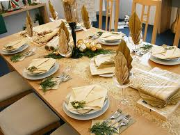 christmas dinner table decorations easyday
