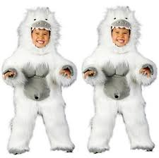 abominable snowman costume the most spook tacular costumes for toddlers and kids
