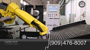 quantum machinery group pedrazzoli bender work cell bm45 fanuc