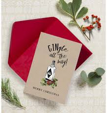 christmas cards themed gingle all the way non personalised christmas cards pack of 10