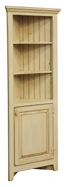 Solid Wood Kitchen Pantry Cabinet Amish Corner Cabinet Pantry Hutch Bathroom Kitchen Solid Wood