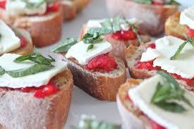 Easy Appetizers by Strawberry Bruschetta