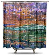 Designer Shower Curtain Shower Curtains U0026 Rods Pre Tend Be Curious