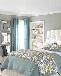 light gray walls robin u0027s egg blue bedding bright yellow curtains