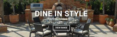Rattan Patio Dining Set - rattan garden furniture patio and outdoor supreme
