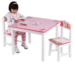 guidecraft childrens table and chairs butterfly buddies wooden table and chairs by guidecraft furniture