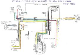 Honda Cr 125 Wiring Diagram Honda C100 Wiring Diagram Honda Wiring Diagrams Online U2022 Sewacar Co