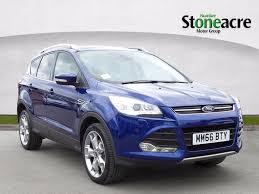 used 2016 ford kuga 2 0 tdci titanium x sport suv 5dr diesel