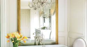Gold Mirror Bathroom Mirror The Enchanted Home Gold Bathroom Mirror Sink French Style