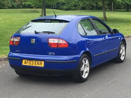 2003 seat leon 1 9 tdi drives lovely last owner 8 years golf a3