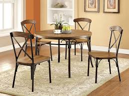 metal frame table and chairs furniture industrial freedom furniture dining table with black
