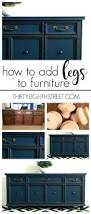 create two pieces of furniture from a china hutch custom
