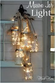 Mason Jar Wagon Wheel Chandelier Mason Jar Light Ho Ho Ho Merry Christmas Pinterest Diy Mason