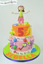 cake from a science lab birthday party via kara u0027s party ideas