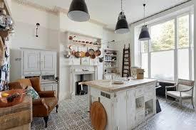 cuisine romantique cuisine shabby chic pour un décor chaleureux et romantique