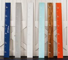 pottery barn personalized growth chart decor look alikes