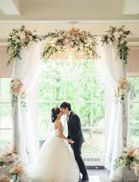 wedding arches using tulle best tulle wedding arch to says vows weddceremony