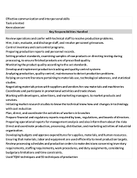 Quality Control Resume Sample by The Best Resume Samples For Quality Control Managers