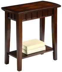 narrow sofa table with storage diy shelves 5780 gallery