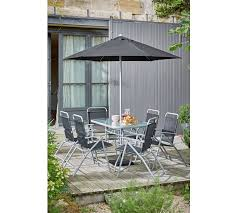 buy home pacific 6 seater patio furniture set at argos co uk your