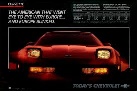 vintage porsche ad corvette advertisements over the years misc corvsport com