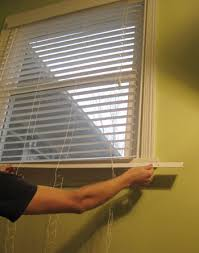 How To Measure For Faux Wood Blinds How To Make No Sew Curtains And Make A Window Look Way Bigger