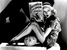 vintage halloween pinups and poetry rock my makeup