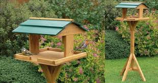 Bird Table L Wildlife Mammal Bird Feeding Tables
