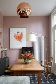 pink dining room wall paint colour ideas houseandgarden co uk