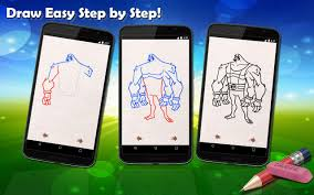 drawing lessons ben 10 android apps on google play