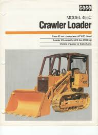 case 455c crawler loader sales brochure u2022 4 99 picclick uk