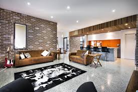 Inside Home Design Srl | house decorated in brick veneer inside and out bricks decorating