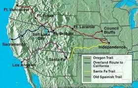 Westward Expansion Map We Are Pioneers Livebinder