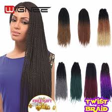 how many packs of marley hair for havana twist 20 inches havana mambo twist crochet braid hair 2d ombre synthetic