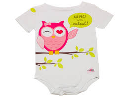 pink owl baby onesies baby clothing