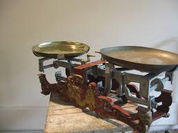 balance de cuisine ancienne objet deco cuisine ancienne