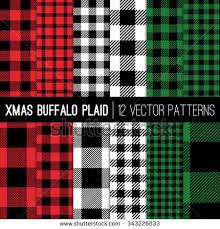 plaid vs tartan christmas lumberjack buffalo check plaid pixel stock vector