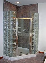 glass block bathroom ideas the 25 best glass block shower ideas on glass blocks