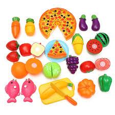 Dinette En Bois Janod by 24pcs Coupe Jouet Cuisine Dinette Fruit Plastique Enfant Achat