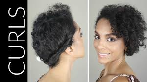 how to casual updo for naturally curly hair youtube