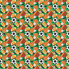 classic sports wrapping paper sports themed gift wrap