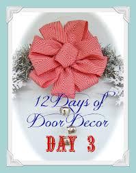 12 days of door decor day 3 simple sparkly wreath wreaths