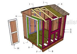 Garden Shed Plan 8x8 Garden Shed Plans Howtospecialist How To Build Step By
