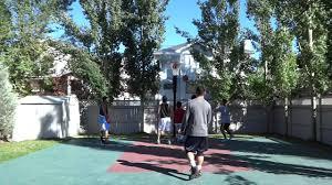 calgary backyard basketball game 3 09 20 2014 youtube