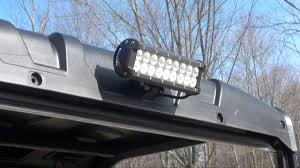 Led Light Bar Utv by Auxbeam Led Light Bar Utv Lighting Youtube