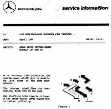 mercedes 5 speed 300te 300d w124 shifters mercedes benz forum