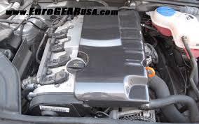 audi b7 engine eurogear audi a4 b7 2 0t carbon fiber engine cover