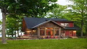 lake house log cabin floor plans homepeek